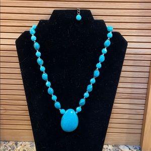 costume turquoise